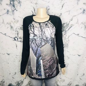 VEX Collection Long Sleeve Shirt Tree City Design